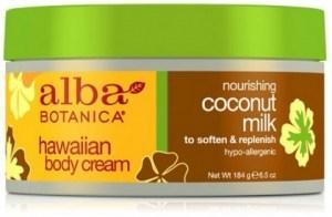 Alba Hawaiian Body Cream Coconut Milk 184g