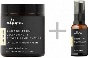 Alkira Antioxidant Night Cream 120g + FREE  Vitamin C + Facial Oil 30ml GWP