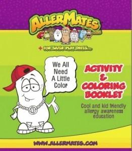 AllerMates Activity Book