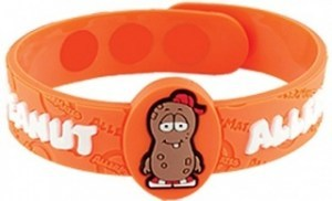 AllerMates ALERT Wristband Peanut Allergy