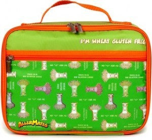 AllerMates Allergy Alert Wheat-Gluten Free Lunch Bag