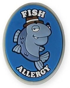 AllerMates Fish Allergy Charm