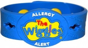 AllerMates The Wiggles Multi Charm Wristband ONLY