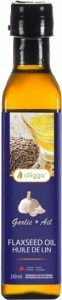 Alligga Organic Flaxseed Oil Garlic  250ml