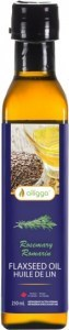 Alligga Organic Flaxseed Oil Rosemary  250ml