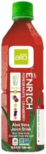Alo Enrich Aloe Vera + Pomegranate + Cranberry 500ml x 12