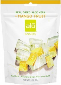 Alo Snacks Dried Aloe Vera & Mango  60g