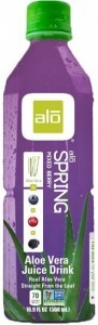 Alo Spring Aloe Vera, Blueberry, Cranberry, Mulberry & Grape 500ml x 12