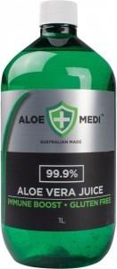 Aloe + Medi 99.9% Aloe Vera Juice Immune Boost  1L