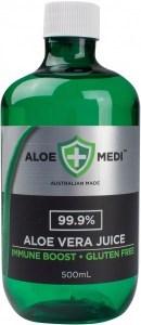 Aloe + Medi 99.9% Aloe Vera Juice Immune Boost  500ml