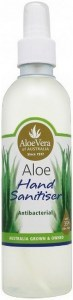 Aloe Vera Aloe Hand Sanitiser 125ml