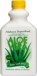 Aloe Vera Inner Leaf Juice 99.9% Aloe Vera Juice Plastic 1Ltr