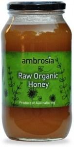 Ambrosia Organic Honey Raw 1Kg