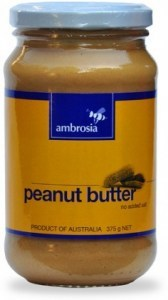 Ambrosia Smooth Peanut Butter 375gm