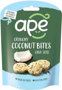 Ape Snacks Crunchy Bites Chia Seed 30g