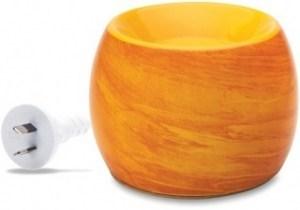 Aromamatic Deluxe 2inOne Saffron Swirl Coral Electric Vaporizer
