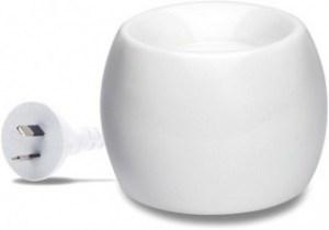 Aromamatic Deluxe 2inOne White Electric Vaporizer