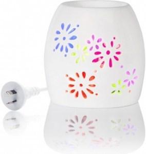 Aromamatic LED Multi Light Elec Rainbow Vaporizer