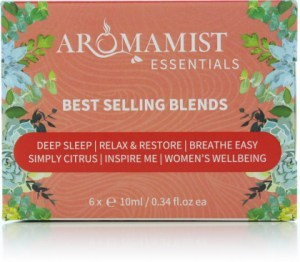 Aromamist Essentials Best Selling Oil Blends