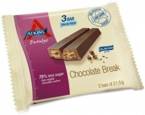 Atkins Endulge 3Bar Low Carb Chocolate Break 64.5g