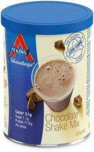 Atkins Shake Mix  - Chocolate 2x330g