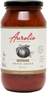 Aurelio Organic Basilico Pasta Sauce  500g