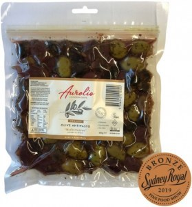 Aurelio Organic Meditteranean Olives  300g