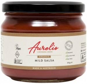 Aurelio Organic Mild Salsa  300g