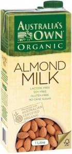 Australia's Own Organic Almond Milk 8x1L