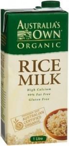 Australia's Own Organic Rice Milk 8x1L