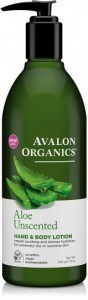 Avalon Organics Aloe Unscented Hand & Body Lotion 350ml