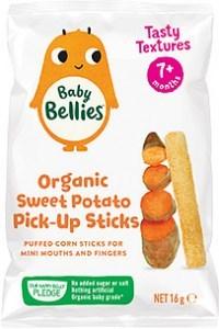 Baby Bellies Organic Sweet Potato Pick-Up Sticks 16g