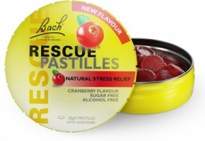Bach Rescue Remedy Pastilles Cranberry Single