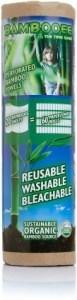 Bambooee Reusable Bamboo Towel Roll 20 Single Sheets