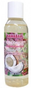 Banaban Extra Virgin Coconut Sandalwood Body Oil 125ml