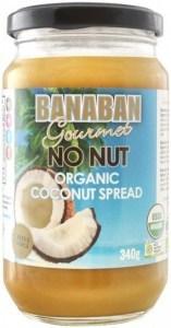 Banaban Gourmet No Nut Organic Coconut Spread  340g
