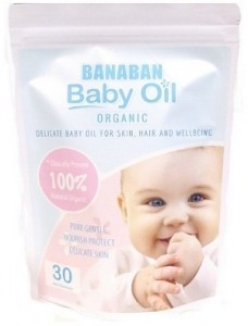 Banaban Organic Baby Oil 30x4ml Pack in Pouch
