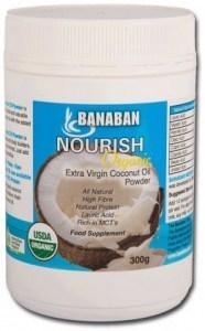 Banaban Organic Nourish Extra Virgin Coconut Oil Powder 300g