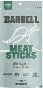 Barbell Tomato Thyme Meat Sticks  100g
