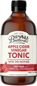 Barnes Naturals Apple Cider Vinegar Fire Cider 500ml