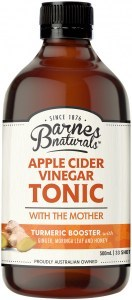 Barnes Naturals Apple Cider Vinegar Tumeric Boost Tonic 500ml