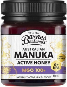 Barnes Naturals Australian Active Manuka Honey MGO 100+ 1kg