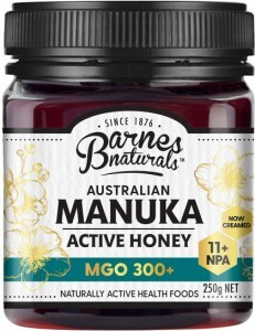 Barnes Naturals Australian Active Manuka Honey MGO 300+ 250g