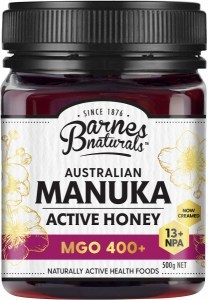 Barnes Naturals Australian Active Manuka Honey MGO 400+ 500g