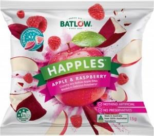 Batlow Happles Apple & Raspberry  10x15g