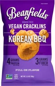 Beanfields Vegan Cracklins Korean BBQ G/F 6x99g