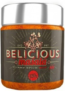 Belicious Masala Curry Spice Hot 120g