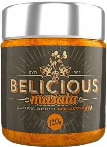 Belicious Masala Curry Spice Medium 120g SEP19