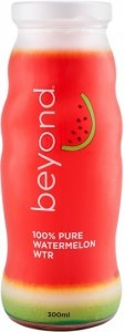 Beyond 100% Pure Watermelon Water  12x300ml Glass