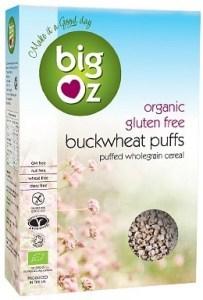 Big Oz Organic Buckwheat Puffs  175g